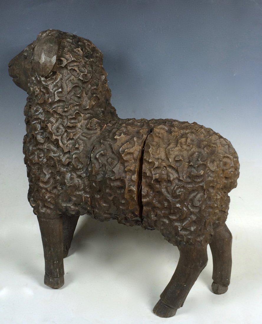 Lamb Paper Mache Mold/Pattern - 6