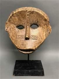 Bacongo Mask with Base