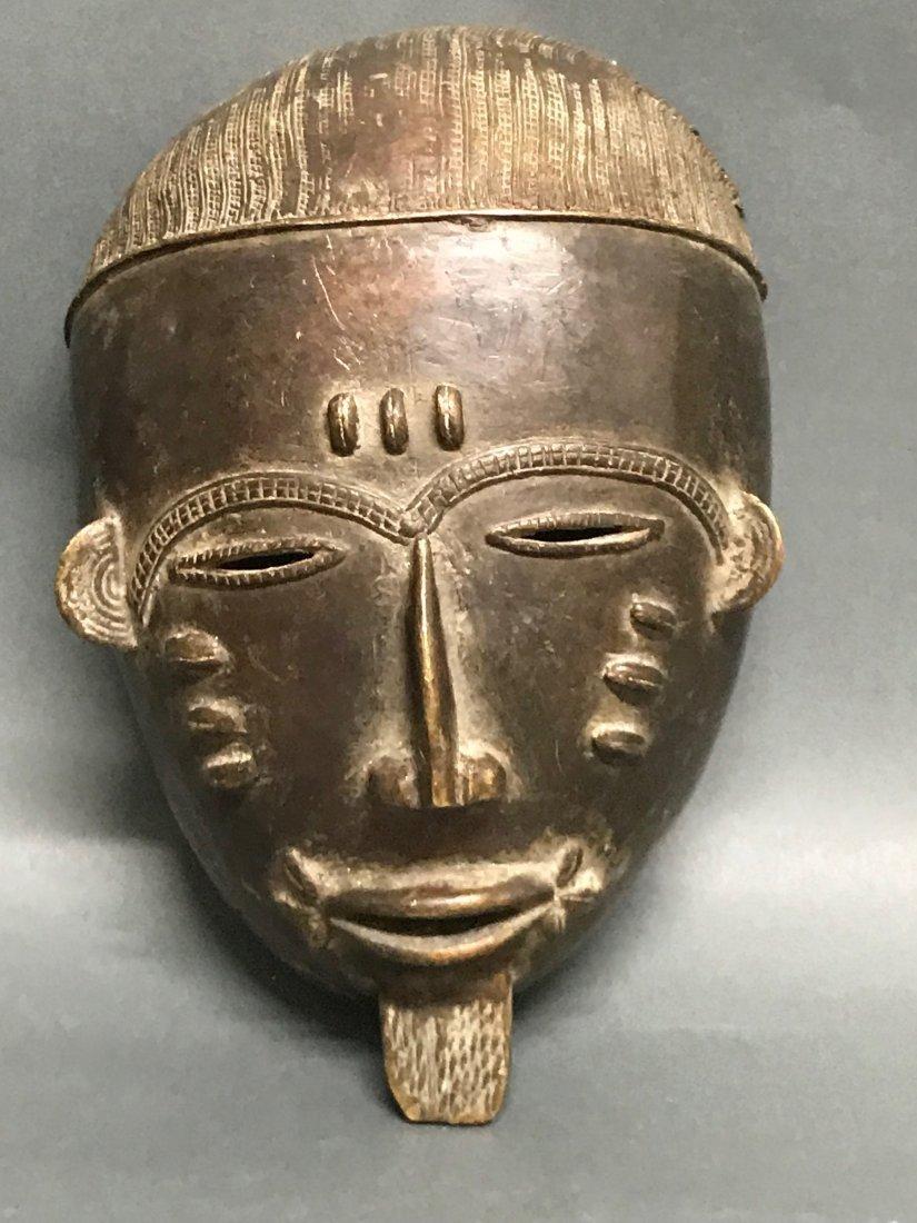 Baule Bronze Mask