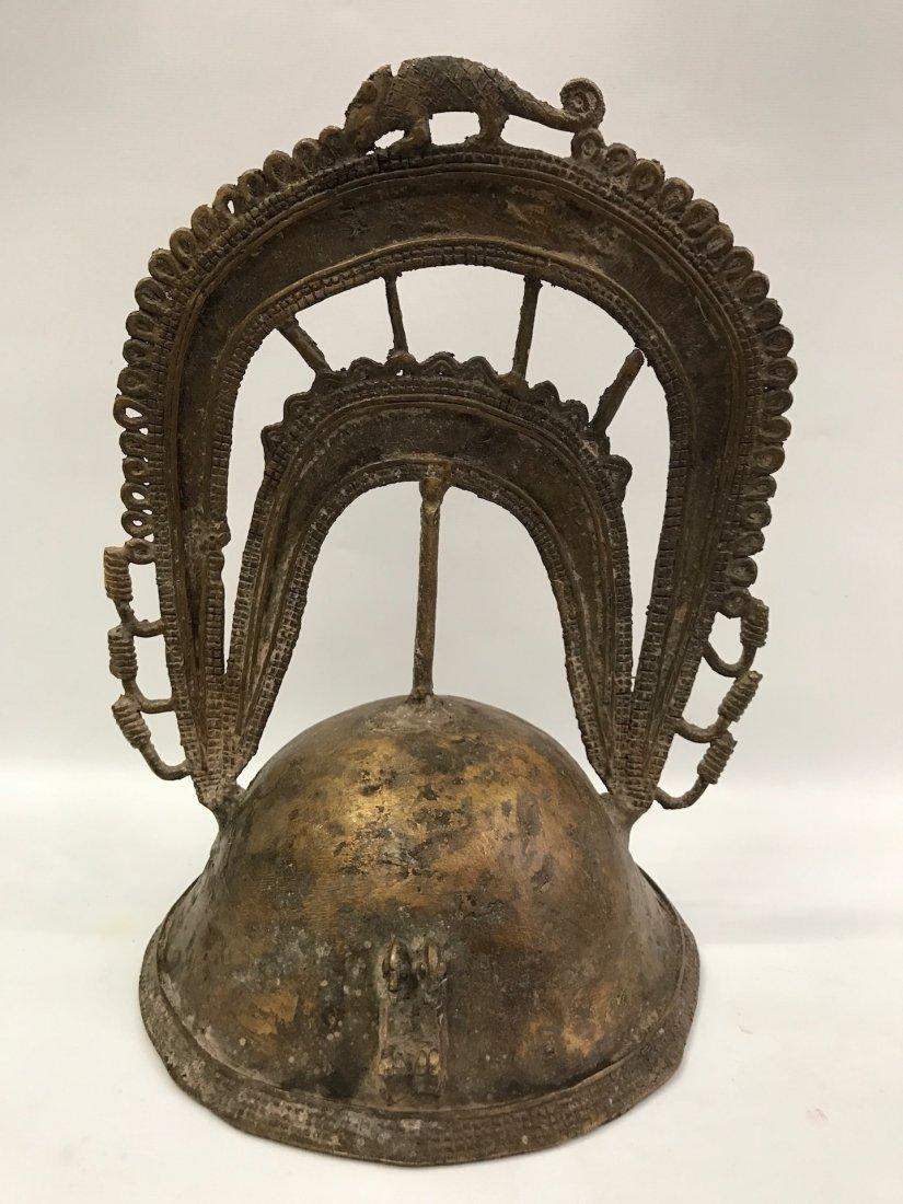 Bronze Dogon Helmet