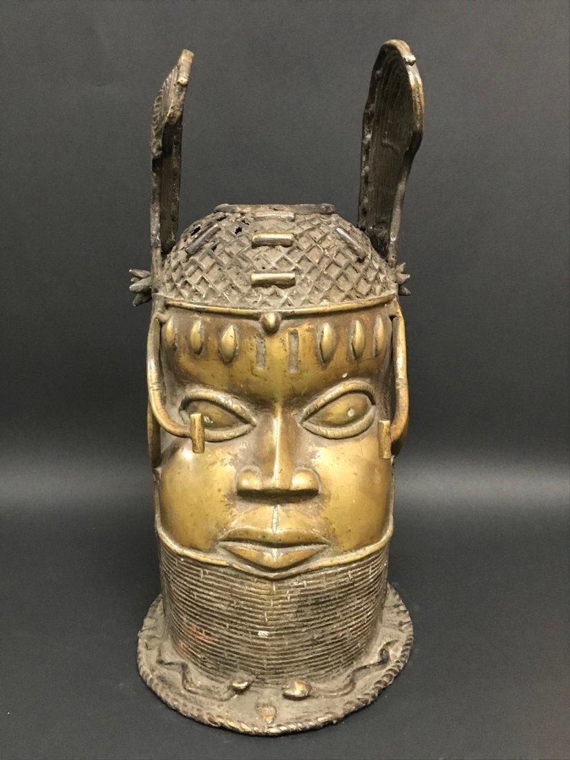 Benin Helmet Mask