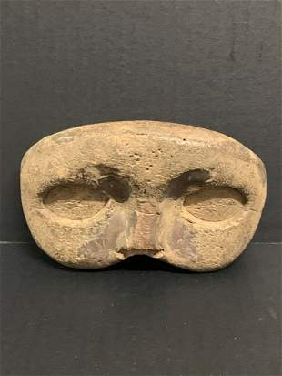 Carved Wood Paper Mache Mold Mask Sculpture