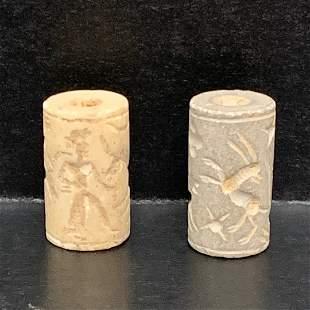Roman Style Terra Cotta Sumerian Stamp/Seal