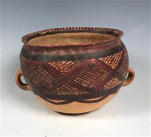 Chinese Art Pottery Painted Bowl