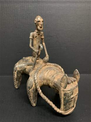 Bronze Dogon Horsemen Sculpture