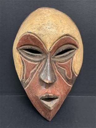 African Art Tikar Wooden Mask