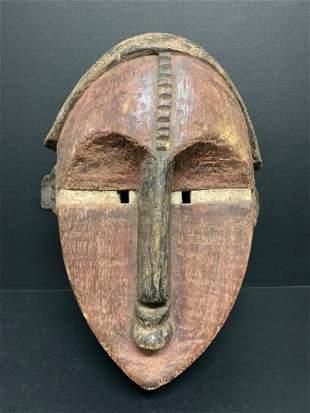 African Tribal Art Lwalwa Mask