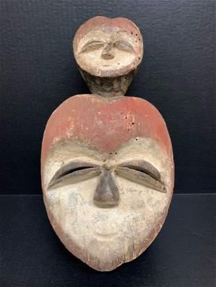 African Art Kwele Mask