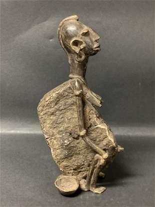 African Art Dogon Bronze Statue