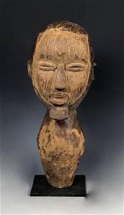 Songye Head Statue