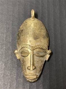Ashanti Bronze Pendant