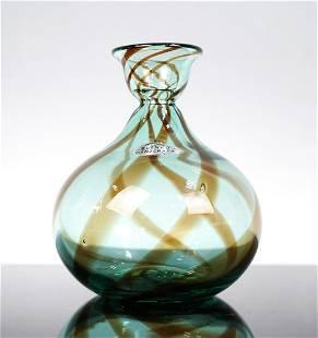 Blenko Handcraft Vase Designed and manufactured by