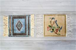 Pair of Small Rug Squares