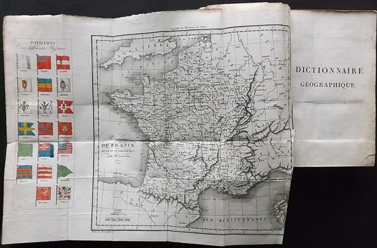 Antique Leather Book - Vosgien, Jean Baptiste Ladvocat - 3