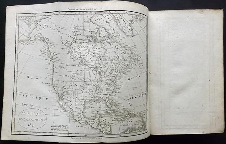 Antique Leather Book - Vosgien, Jean Baptiste Ladvocat - 4