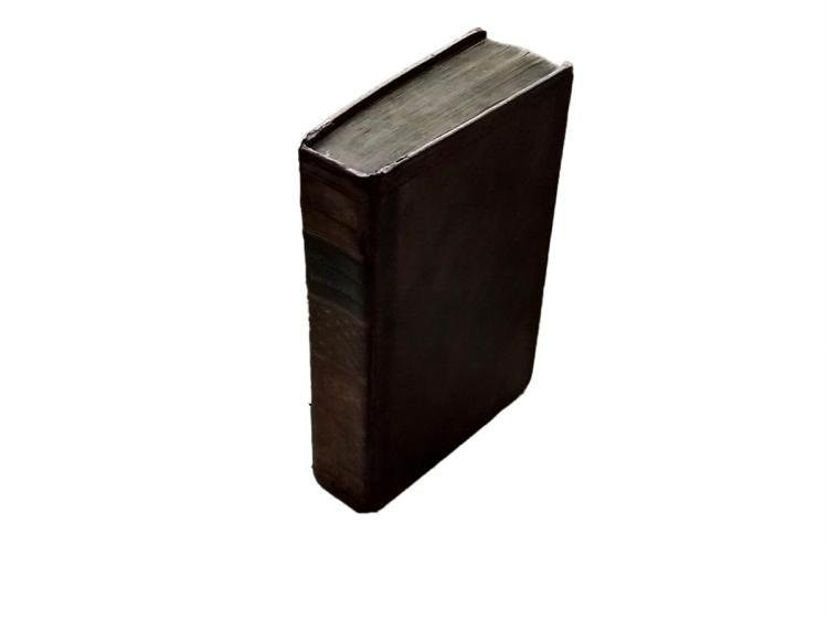 Antique Leather Book - Vosgien, Jean Baptiste Ladvocat - 6