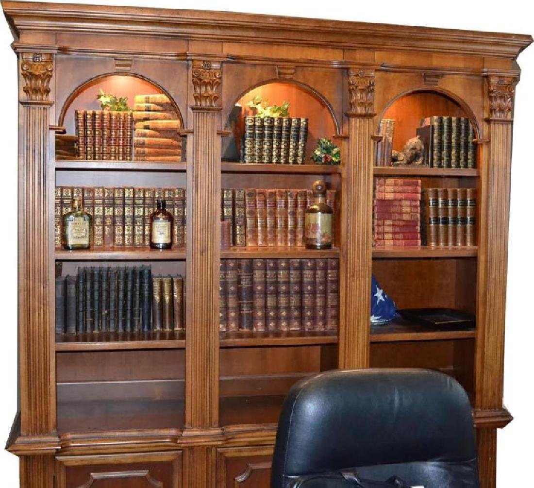4 Vols. Antique Leather Books - History of the World - - 2