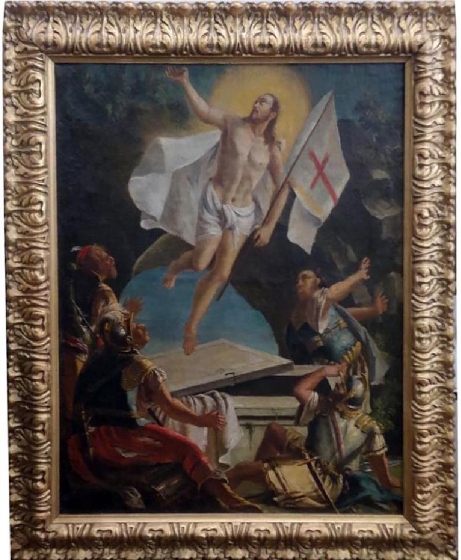 18th Century Oil Painting After Rottenhammer Johann