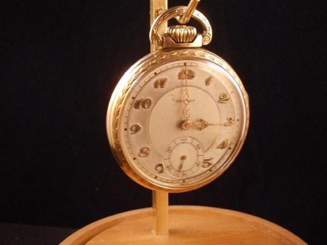Everbrite Watch Co Crosby 1930s 21J size 16 - 10KRGF