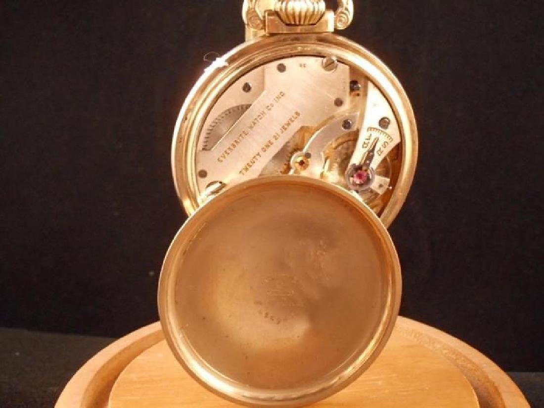 Everbrite Watch Co Crosby 1930s 21J size 16 - 10KRGF - 3