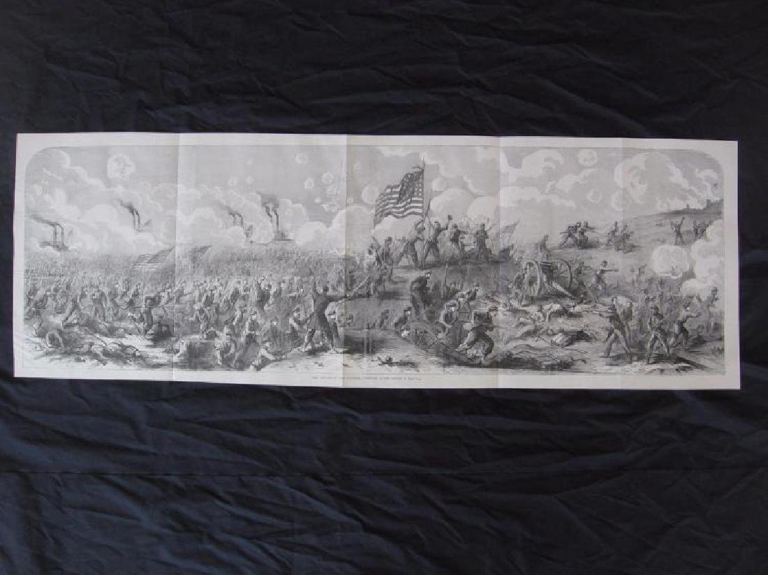 Tennessee Civil War History - Large Rare Panoramic