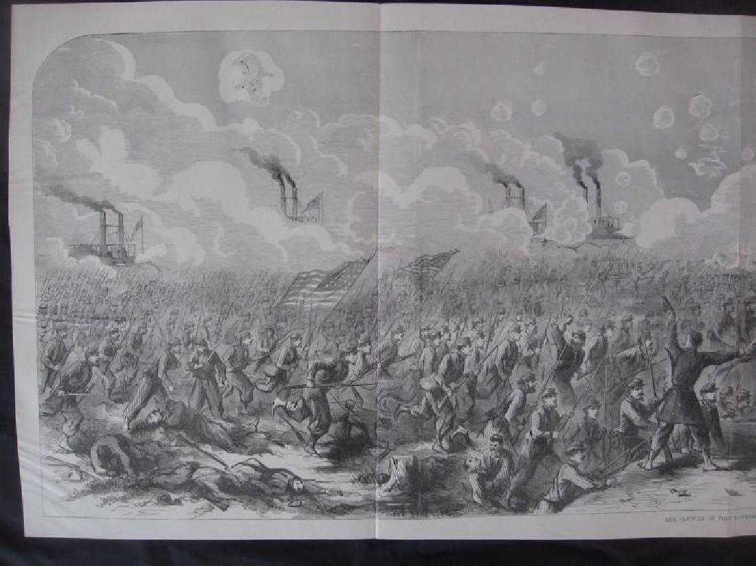 Tennessee Civil War History - Large Rare Panoramic - 2