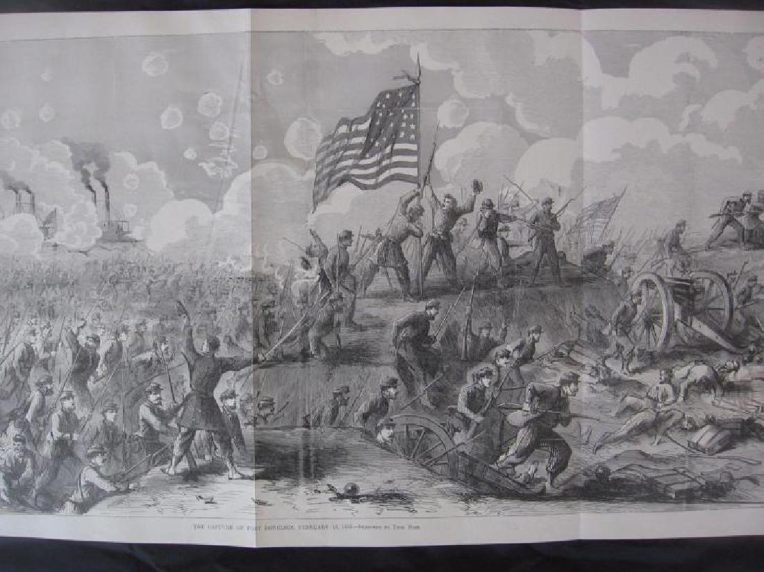 Tennessee Civil War History - Large Rare Panoramic - 3