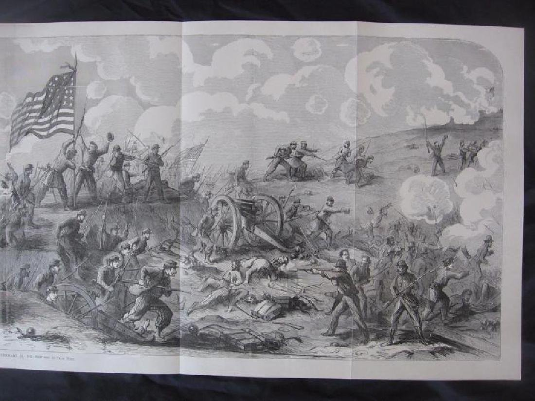 Tennessee Civil War History - Large Rare Panoramic - 4