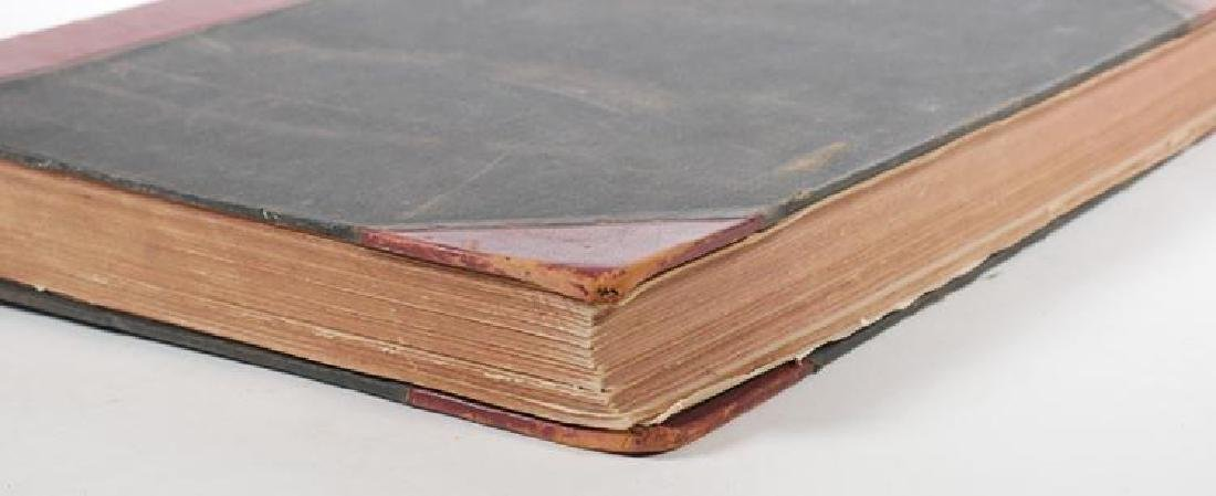 Large Antique Leather Bound Volume of Harper's Weekly - 3