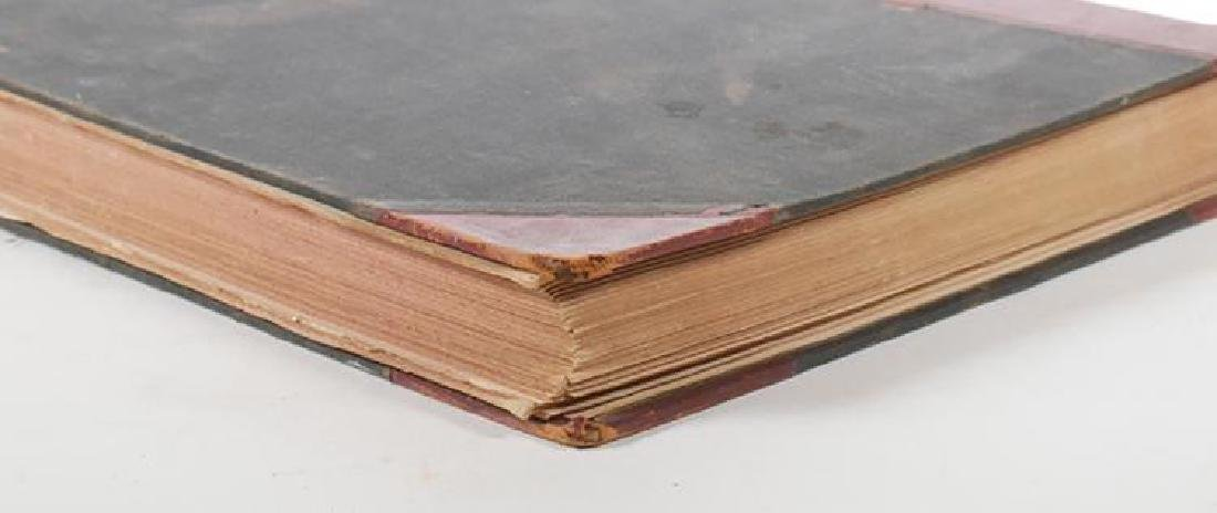 Large Antique Leather Bound Volume of Harper's Weekly - 4