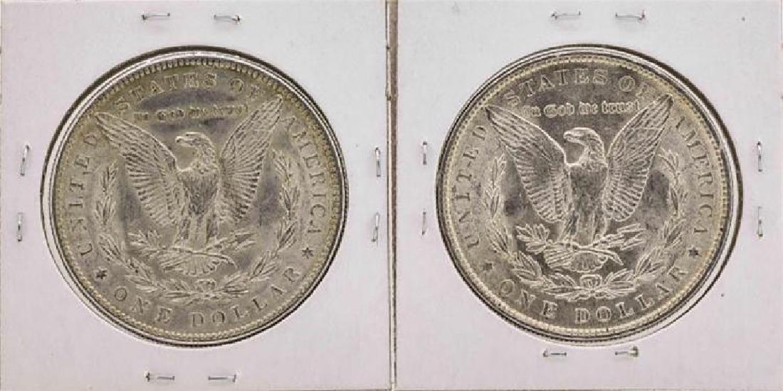Set of 1886-1887 $1 Morgan Silver Dollar Coins - 2