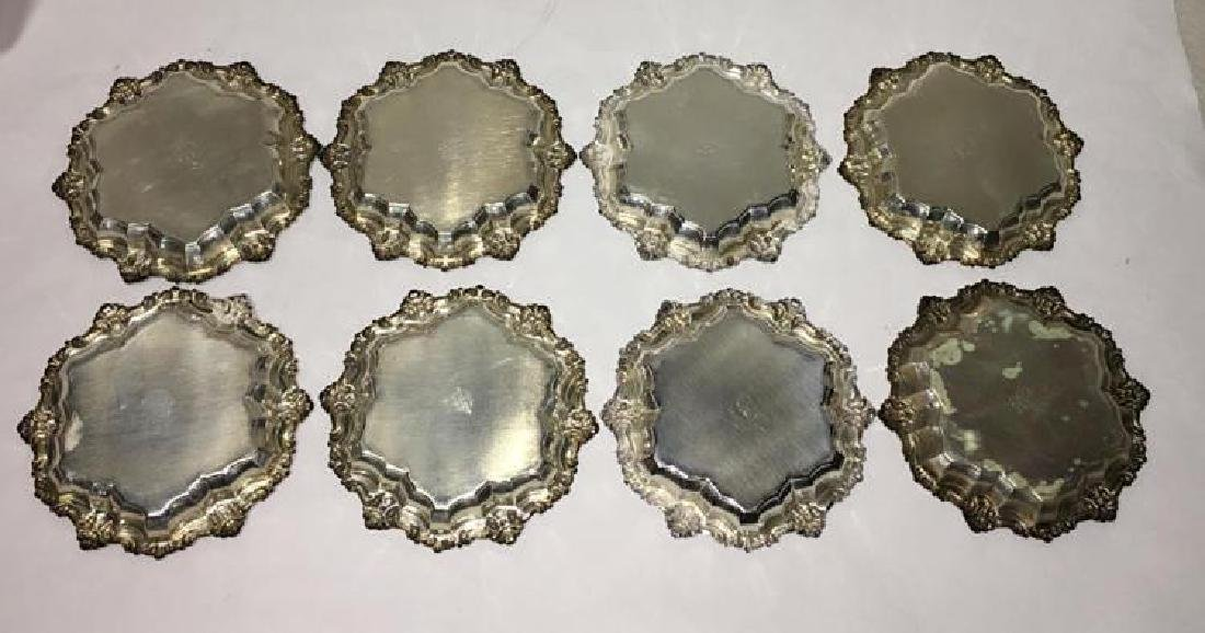 Antique Set of 8 Matching Frank M. Whiting Sterling - 2