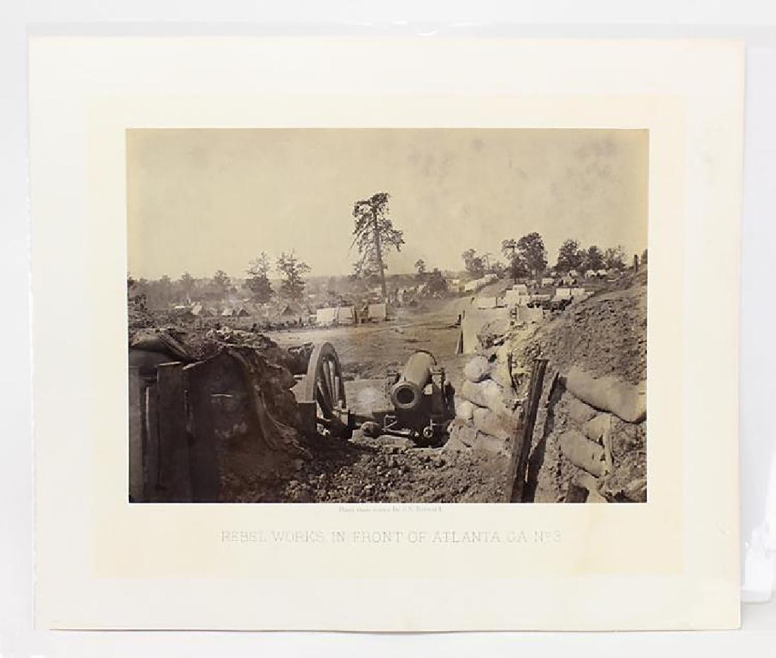 George N. Barnard Original Civil War Albumen Photograph