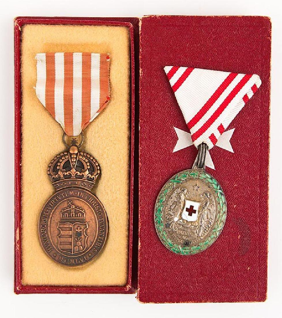 Austria Medals Lot of 2