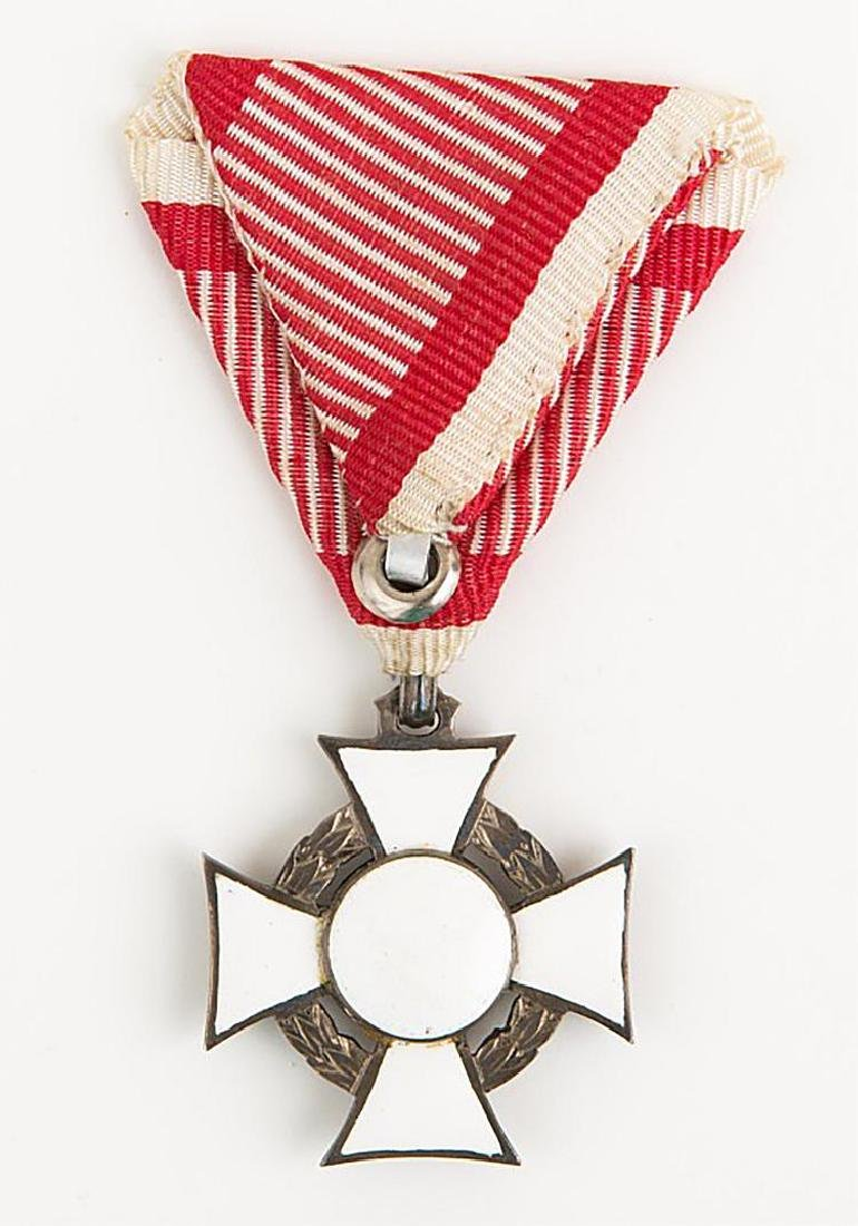 Austria Hungary Military Merit Cross with Box - 3