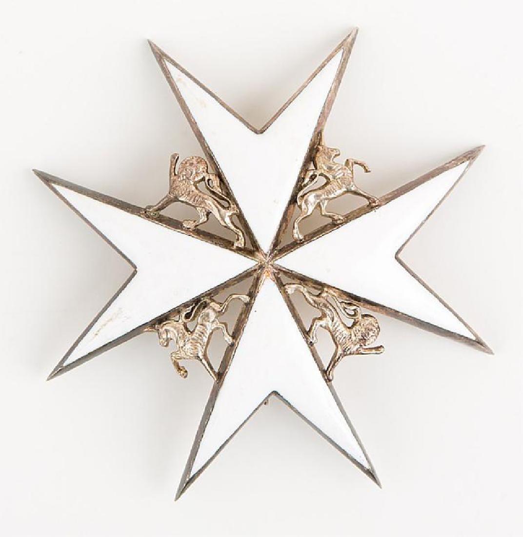 Order of St John of Jerusalem Badge Lot of 2 - 2