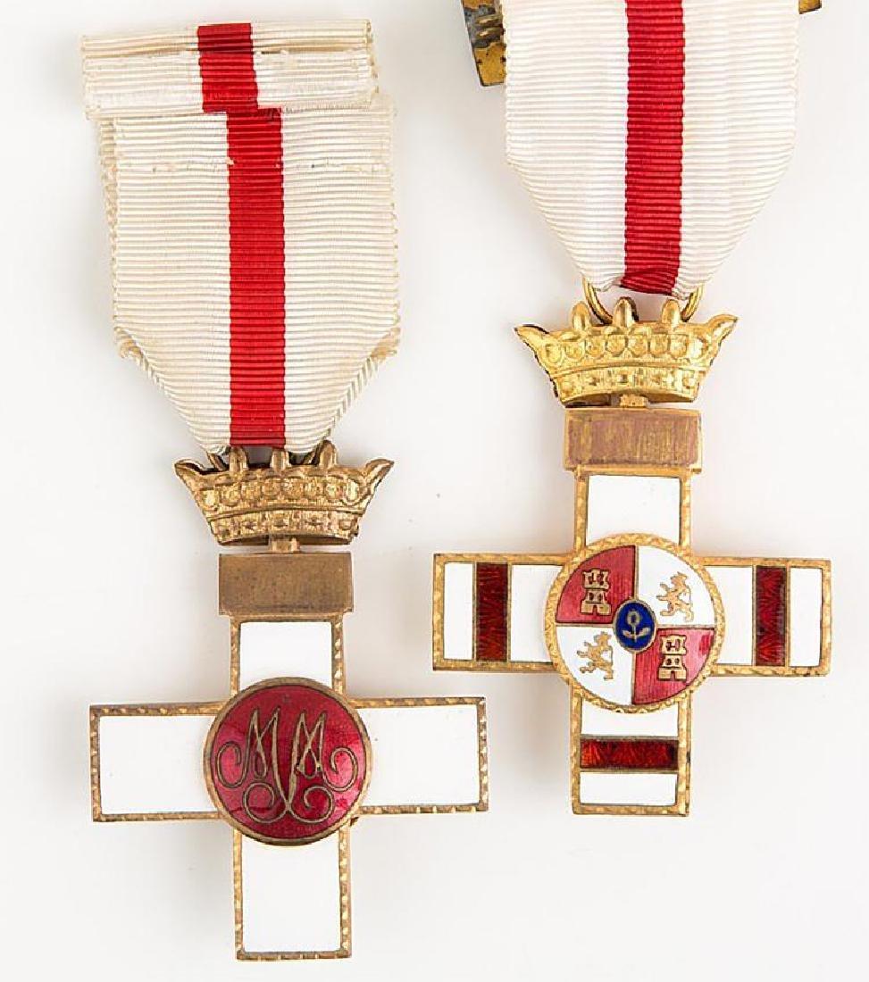 Spanish Merit Medal Lot of 2