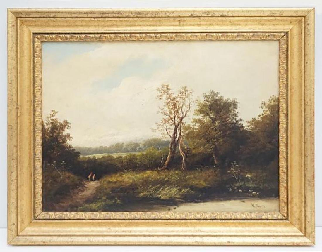 Sidney Richard Percy English Landscape Oil Painting,