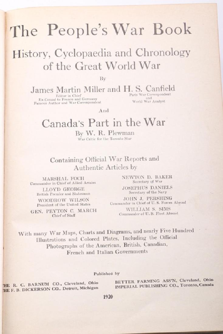 "Autographed Copy of the Important WWI Book Entitled ""A - 6"
