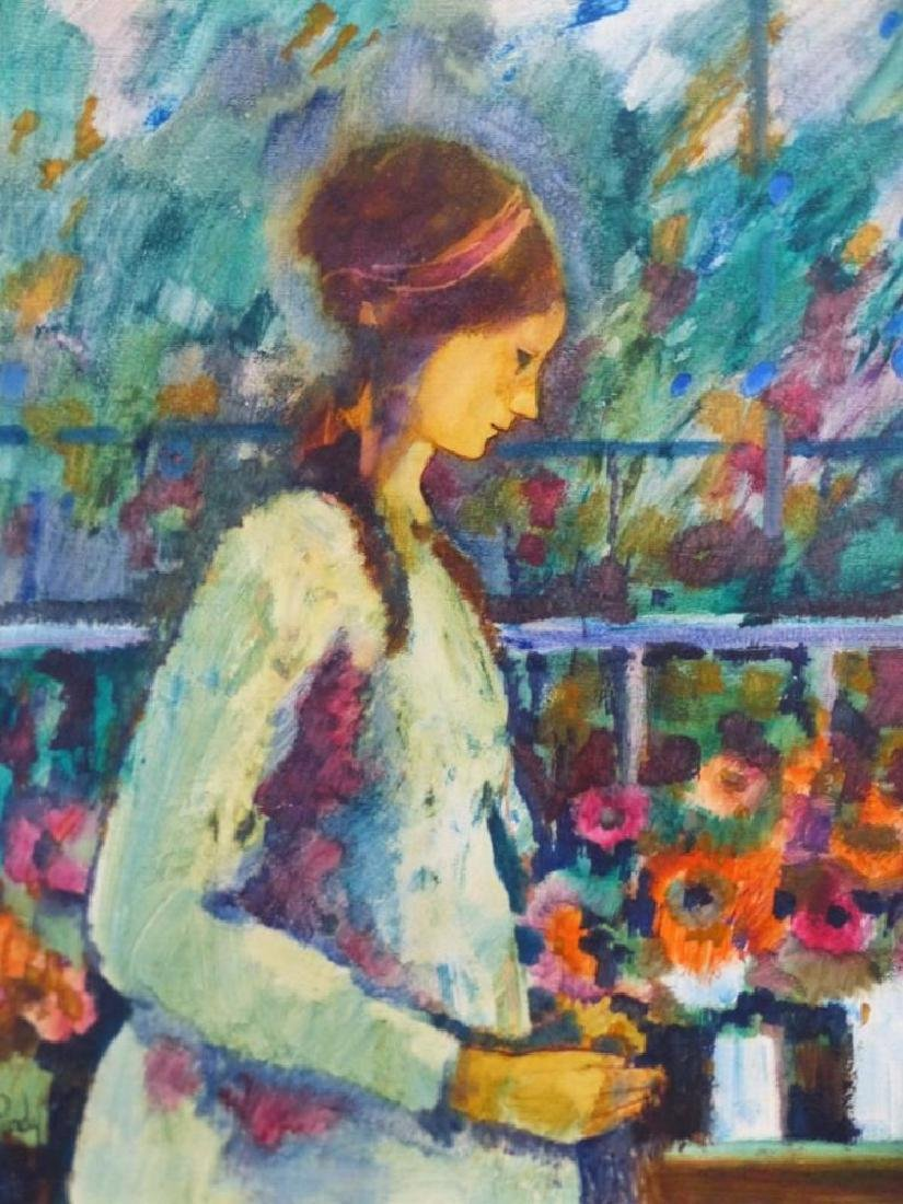 Donald Roy Purdy American Modern Portrait Oil Painting - 3