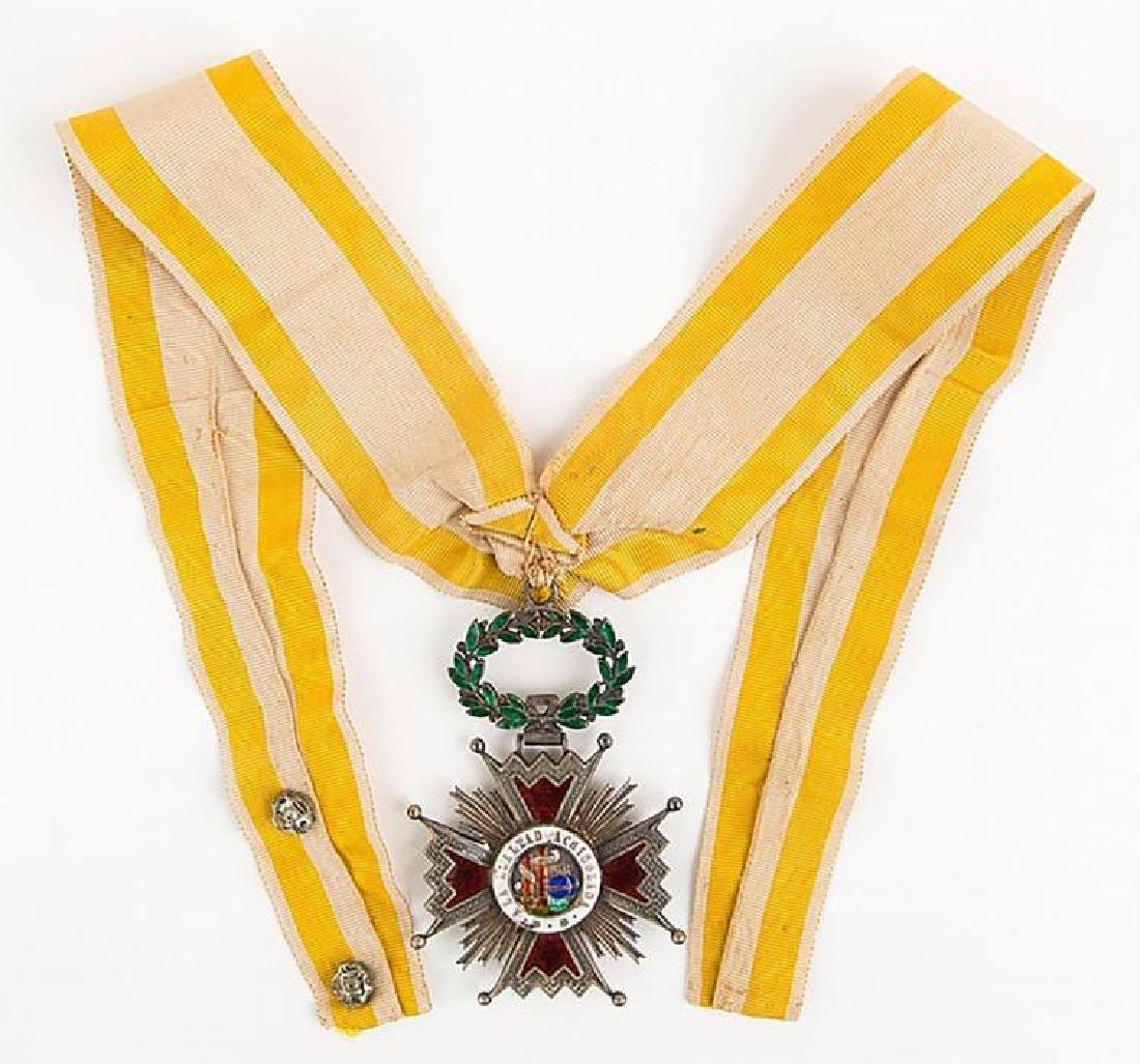 Original Spanish Order of Isabella the Catholic - Gold