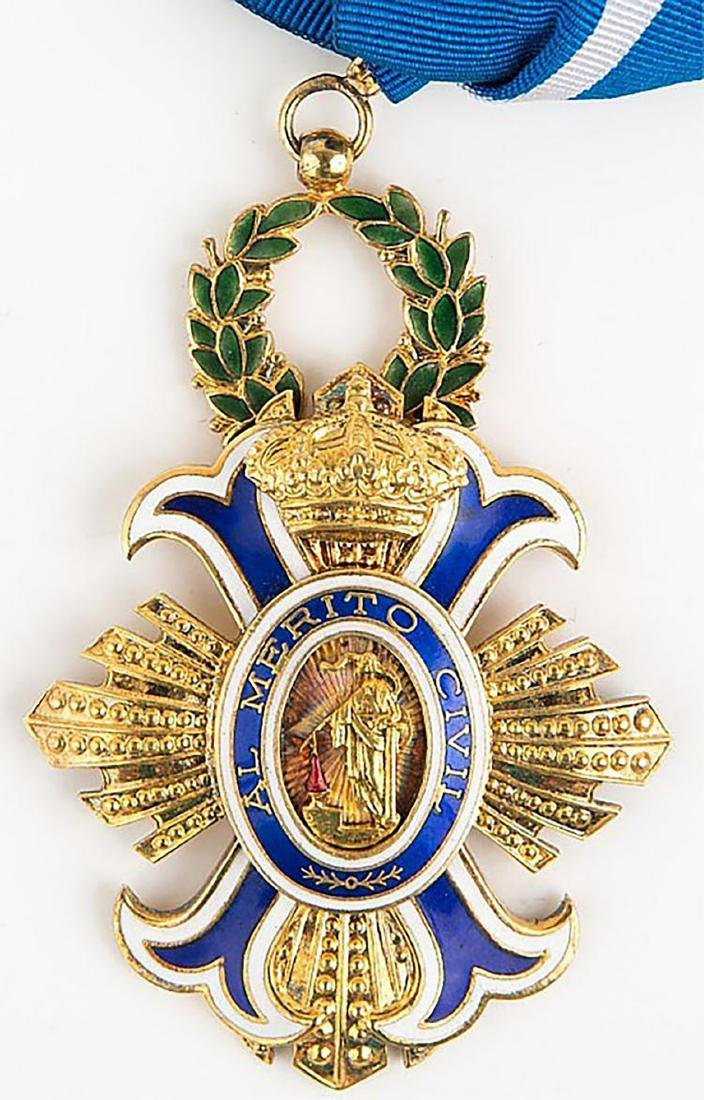 Original Spanish Order of the Civil Merit Grand Cross