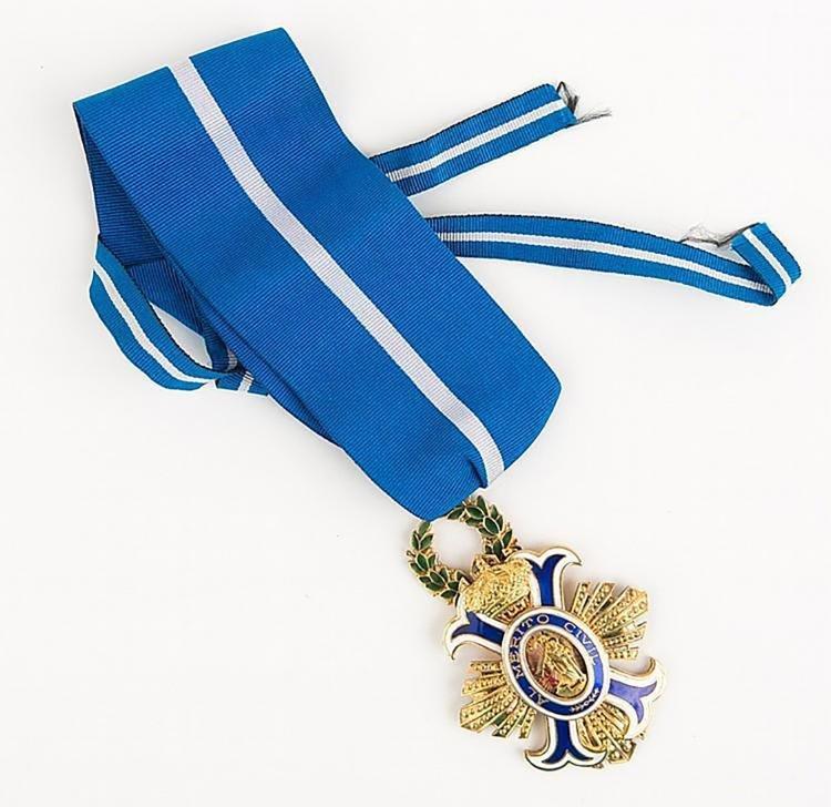 Original Spanish Order of the Civil Merit Grand Cross - 2