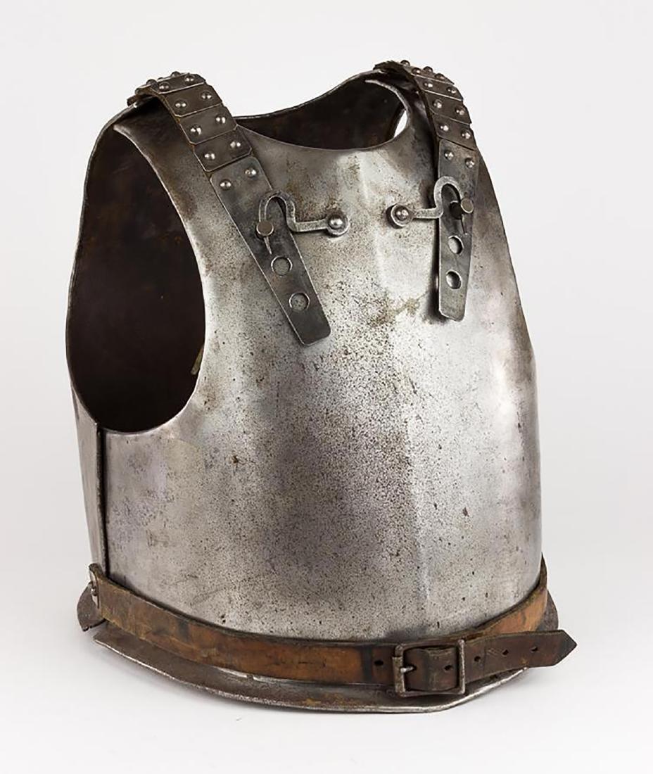 Original 18th Century European Cuirass Plate Armor