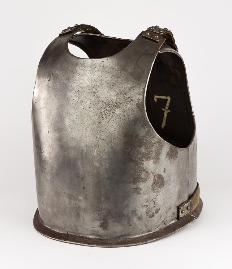 Original 18th Century European Cuirass Plate Armor - 2