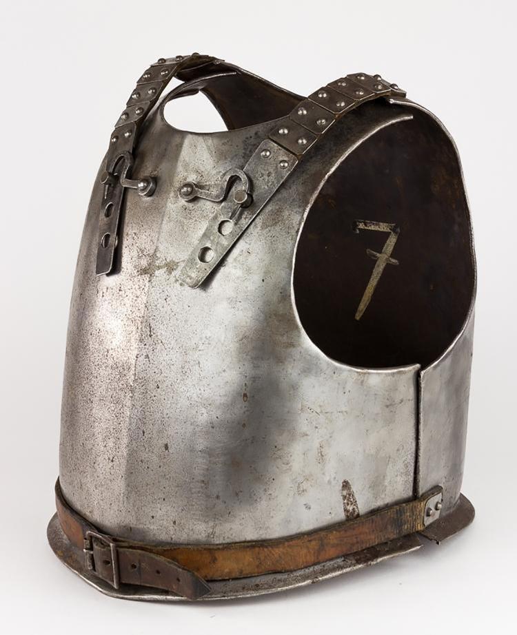Original 18th Century European Cuirass Plate Armor - 3