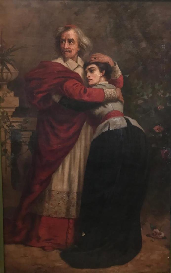 Very Rare Large Oil Painting by Sir Sydney Prior Hall - 2