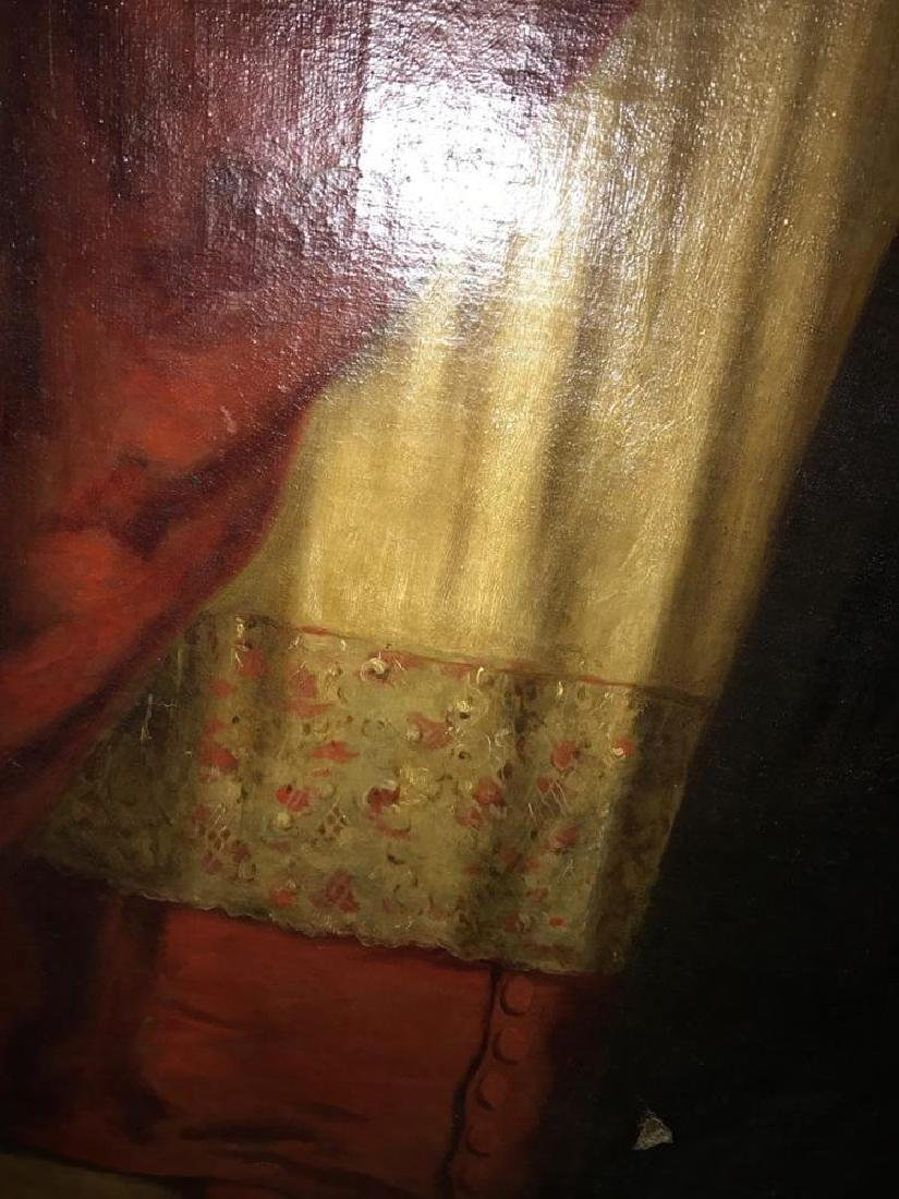 Very Rare Large Oil Painting by Sir Sydney Prior Hall - 8