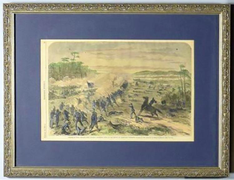 Battle Of Nashville , Harpers Weekly