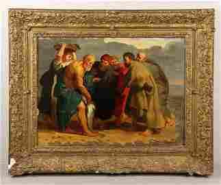 17th Century Oil Painting Circle of Peter Paul Rubens